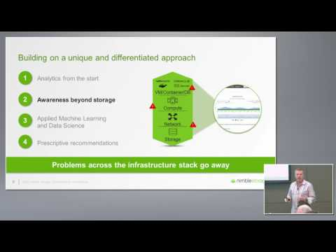 Nimble Storage InfoSight Predictive Analytics Overview with Rod Bagg