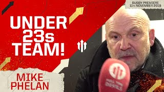 """""""WE'RE AN UNDER 23s TEAM!"""" Mike Phelan Full Time Devils Interview"""