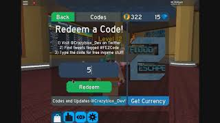 Roblox Flood Escape 2 Code