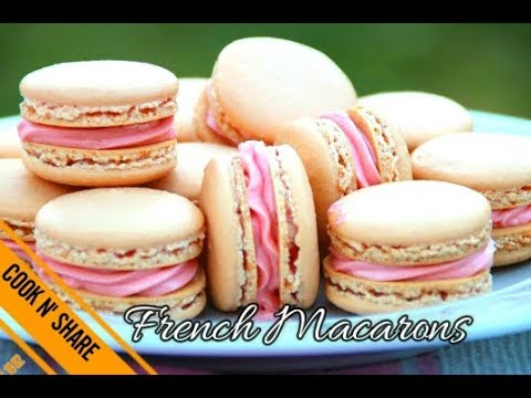 French Macarons Made Easy - With Delicious Raspberry Filling