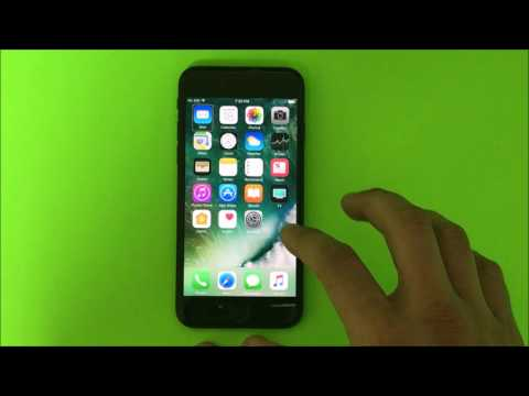 How to Disable / Turn OFF TalkBack on a Apple iPhone 7