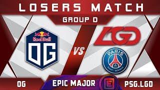 Download OG vs PSG.LGD EPICENTER Major 2019 Highlights Dota 2 Video