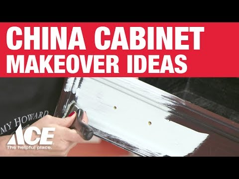 How To Paint A China Cabinet - Ace Hardware