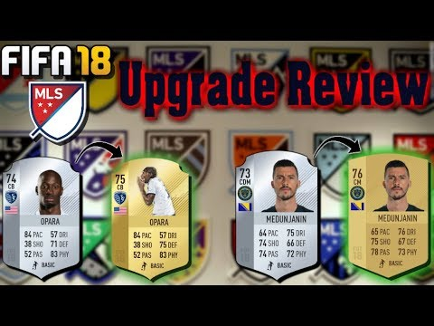 FIFA 18 MLS Winter Upgrades Overview     Ike Opara Is Gold Now!!!