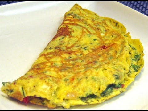 Crispy and Super delicious Tomato Omelettes - Vegetarian/Vegan - besan pancakes