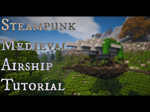 Minecraft - Medium Airship Tutorial