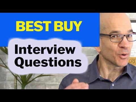 Best Buy Employment Interview Questions
