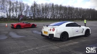 Supercars Head-to-Head at Vmax Stealth - LaFerrari, P1, 918, Veyron, Agera