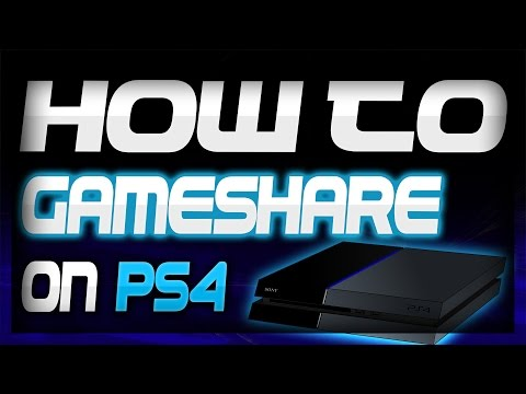 How to Gameshare on PS4 EASY | Play Your Friends Games for Free | Tutorial 2017