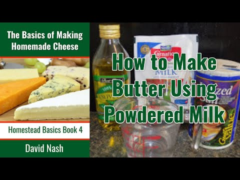 Butter From Powdered Milk