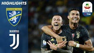 Frosinone 0-2 Juventus   Late Ronaldo & Bernardeschi Goals In Fifth Straight Juve Win   Serie A