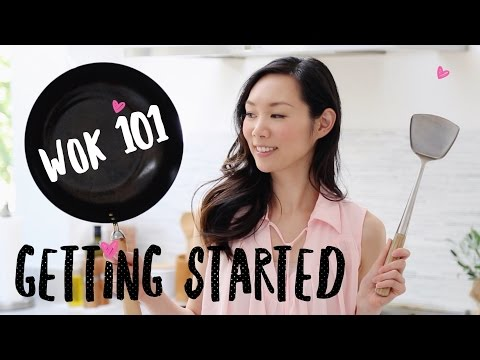 WOK 101:  How To Season A Wok | Angel Wong's Kitchen