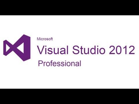 Installing Visual Studio 2012