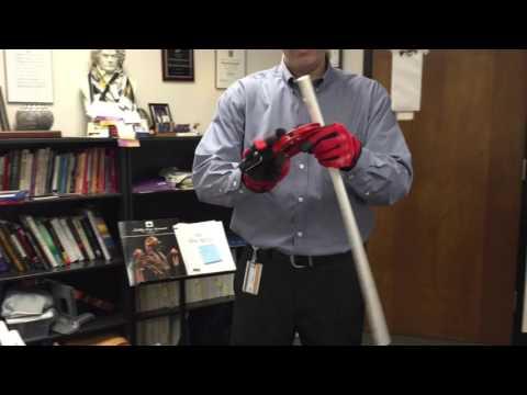How to cut PVC tubing for string teaching aids