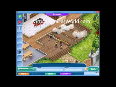 How To Expand House Front Deck On Virtual Families 2