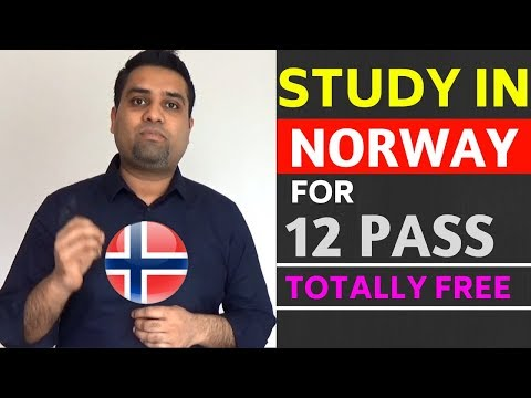 12 Pass Study in Norway for Free