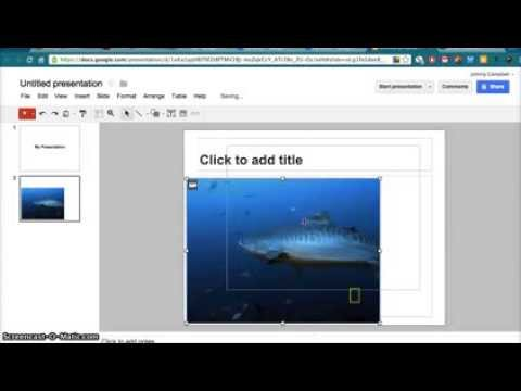 Google Drive How to Insert Images Powerpoint slides