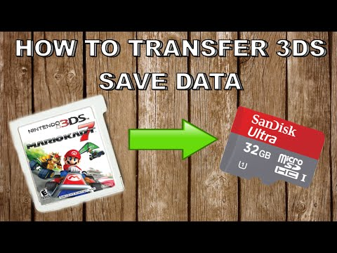 HOW TO TRANSFER 3DS SAVES FROM CARTRIDGE TO DIGITAL (Save Data Transfer Tool)