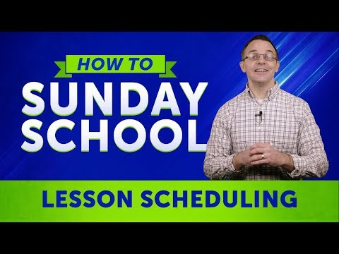 How To Sunday School: Using The Sunday School Scheduler To Organize Your Classrooms   Sharefaith.com