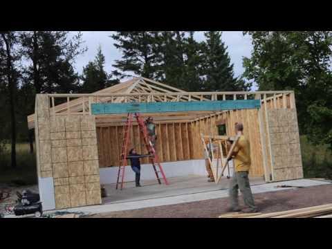 Framing the New Garage
