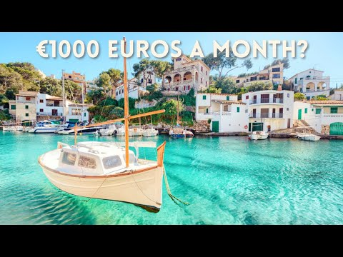 COST OF LIVING IN SPAIN | Can you live off of 1000 Euros or less per month in Spain?