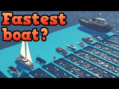 GTA Online - What is the fastest boat?