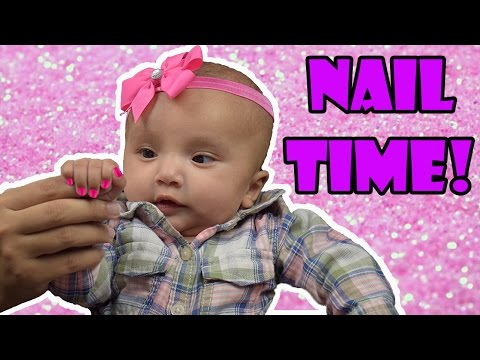 How to Cut a Baby's Nails