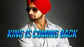 Yo Yo Honey Singh Comeback Confirmed by Honey Singh Team | King is Coming Back | Quick Updates