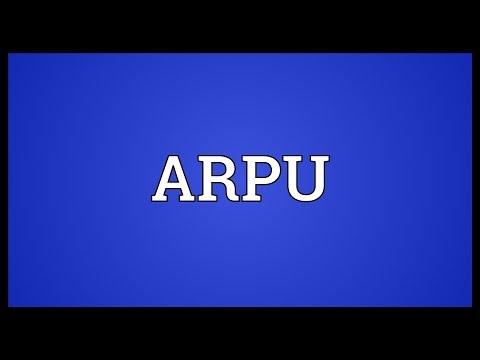 ARPU Meaning