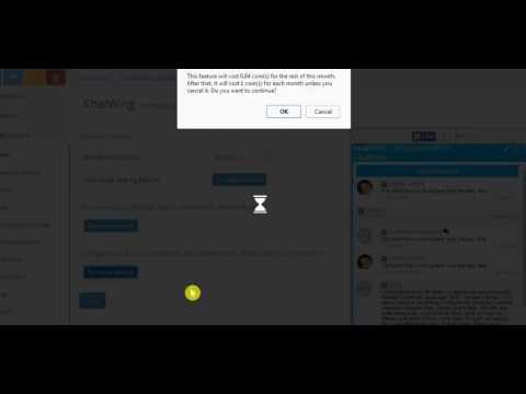 Instant messag server online chat box app: facebook chat for website