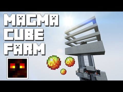 Minecraft: Magma Cube Farm [With Spawner]