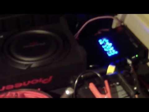 PIONEER TS-SWX2502 & BOSS RIOT 1100 WATTS CAR AMP Shallow SLIM SUBWOOFER R1100M KIA SORENTO 2013