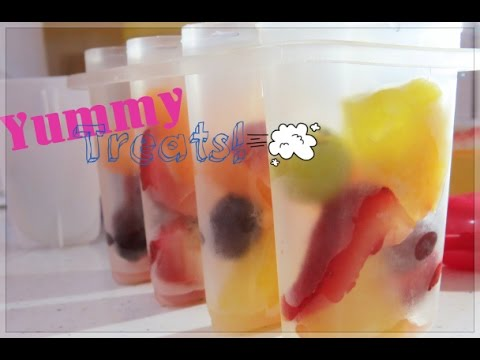 Fruity Vodka Popsicle