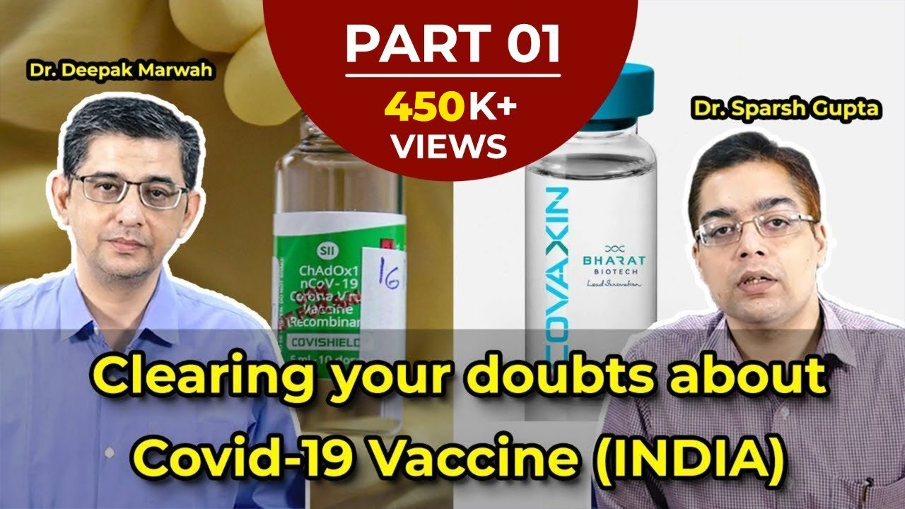 Frequently asked Queries about Indian Covid Vaccines COVISHIELD and COVAXIN (HINDI)