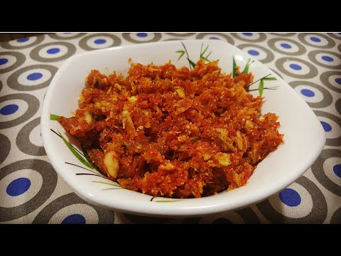 Gajar Ka Halwa/ Carrot Halwa/ Sweet Dish