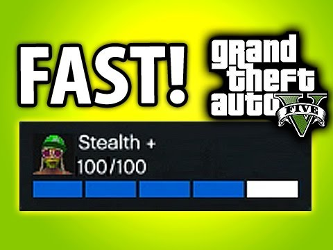 GTA 5 Online Fastest Way to Rank Up Rep, Stealth & Flying! - GTA V Online Tips and Tricks