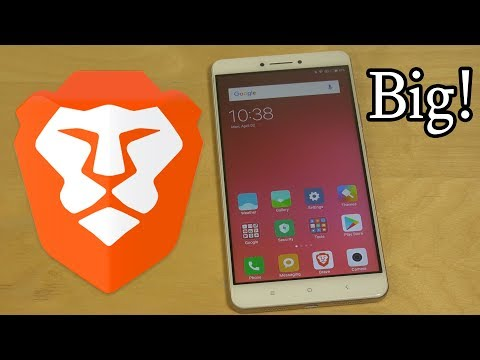Brave Browser on Massive Xiaomi Mi Max Android Speed Test!