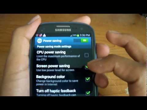 Tips to: Maximize battery, Make phone faster, and use hidden features on Android (Galaxy S3)