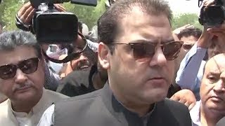 Hussain Nawaz Media talks