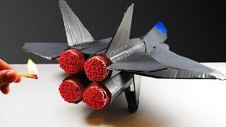 Epic Matches Powered Cardboard Quad Jet