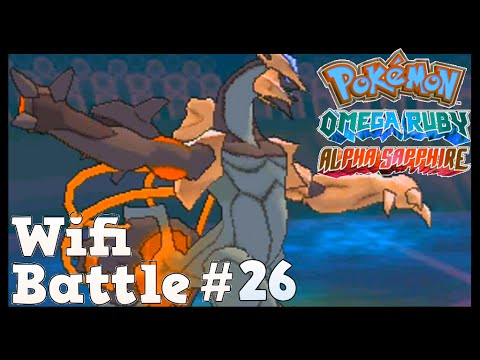 Pokemon ORAS  / X&Y Wifi Battle #26: Kyurem's Godly Smite (Omega Ruby & Alpha Sapphire)