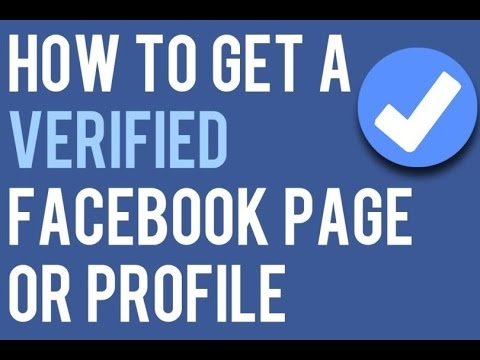 How to Get Facebook Verified tick 2016