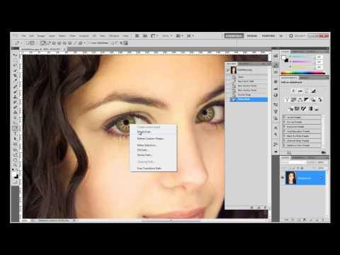 Tut: How To Change Brown To Blue Eye (Photoshop CS5 Basic)