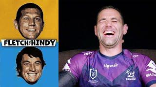 Fletch & Hindy stitch up NRL stars in lie detector skit | Fletch & Hindy