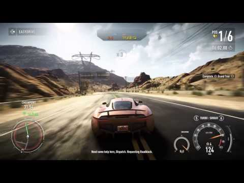 Need for Speed™ Rivals Rank 21 Second Try and Maserati