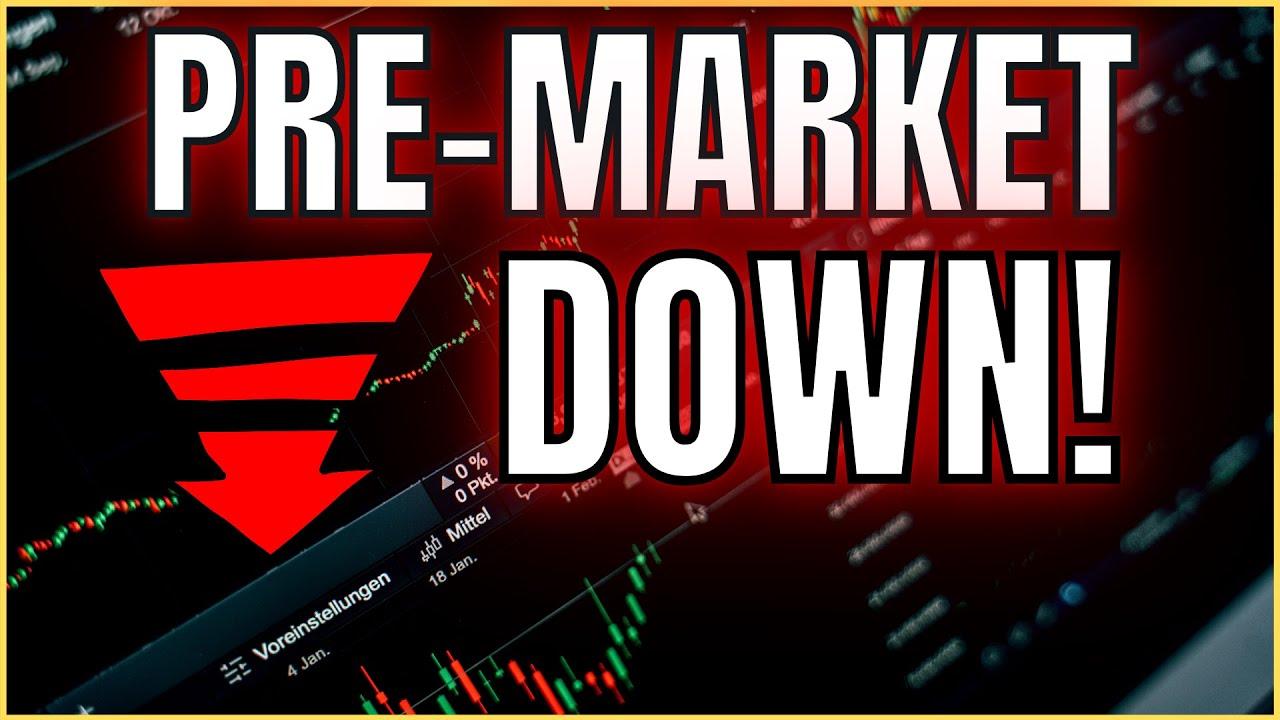 🔴 [PRE-MARKET LIVE] Market Crash??  S&P 500 and NASDAQ DOWN! Technical Analysis on Apple / Tesla
