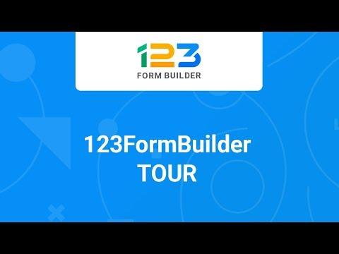 Quick Tour 123FormBuilder - Learn about 123 Form Builder