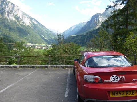 Two Brits drive across Europe