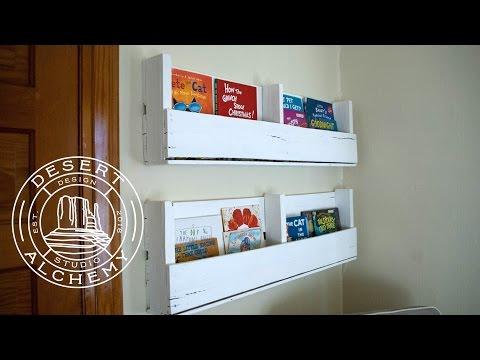 Pallet Bookshelf DIY Build (Desert Alchemy Design)