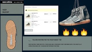 Bot Lessons Learned From The Yeezy Boost 750 Gum bottom Drop - Vidly xyz